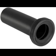 GEBERIT MONOLITH přímé hrdlo ø90mm pro stojící WC, PE-HD, černá