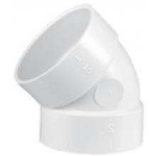 AEG koleno pro rozvody centrálního vysavače 45, FF, plast