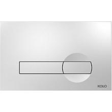 KOLO CLIP ovládací tlačítko 24x15x0,6cm, chrom 94163-002