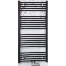 CONCEPT 100 KTKM radiátor koupelnový 691W rovný se středovým připojením, bílá KTK13400600M10