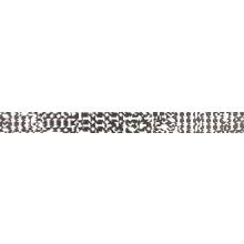 RAKO TRINITY listela 40x3,5cm, bílá