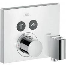 AXOR SHOWER SELECT termostatická baterie 188x66x167mm, podomítková, vrchní díl, pro 2 spotřebiče, chrom