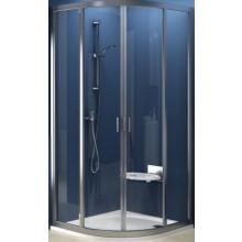 RAVAK SUPERNOVA SKCP4-90 sprchový kout 900x1880mm, čtvrtkruhový, posuvný, čtyřdílný, bílá/transparent