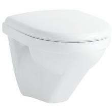 WC závěsné Laufen odpad vodorovný Moderna R Compact hluboké splachovaní  bílá