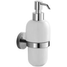 JIKA MIO dávkovač tekutého mýdla 134x134mm, s držákem, nástěnný, chrom