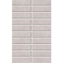 Obklad - Boston Mosaico Boston Perla 25x40 cm sv.šedá