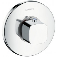Baterie sprchová Hansgrohe podomítková termostatická Metris Ecostat E vrchní sada  chrom
