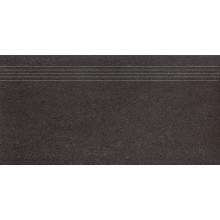 RAKO UNISTONE schodovka 30x60cm, černá
