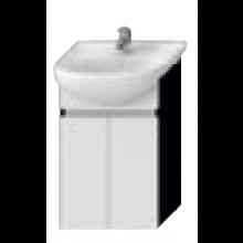 JIKA LYRA skříňka pod umyvadlo 446x315x696mm, tmavý dub/bílý lak