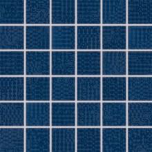 RAKO TRINITY mozaika 30x30cm, lepená na síťce, tmavě modrá