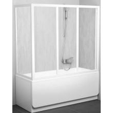 Zástěna vanová dveře Ravak sklo APSV 80 cm bílá/grape