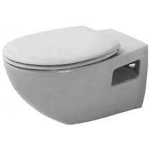 WC závěsné Duravit odpad vodorovný Duraplus Colomba s  bílá
