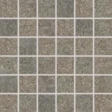 RAKO GROUND mozaika 30x30cm, lepená na síťce, šedá