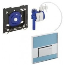 GEBERIT ovládání splachování pisoárů Sigma 50, 13x13cm, pneumatické, ruční zakázkové, 116.016.00.1