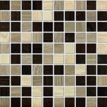 MARAZZI TREVERK mozaika 30x30cm lepená na síťce, beige/teak/wenge, M7W8
