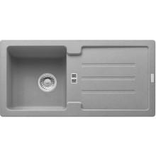 FRANKE STRATA STG 614 dřez 860x435mm s odkapávačem, Fragranit DuraKleen Plus/šedý kámen