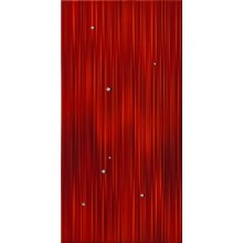 IMOLA HALL dekor 30x60cm red, CRISTALLI R MIX