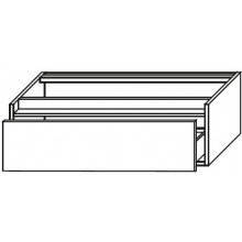 INDA PERFETTO skříňka pod umyvadlo 800x240x500mm, olmo tabak