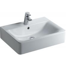Umyvadlo klasické Ideal Standard s otvorem Connect Cube 60x46cm bílá