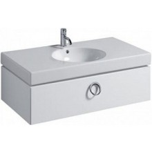 KERAMAG PRECIOSA 2 skříňka pod umyvadlo 89x25,5x49cm, závěsná, bílá lesklá 800790000