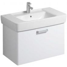 KERAMAG RENOVA NR.1 PLAN skříňka pod umyvadlo 78x46,3x44,5cm závěsná, korpus bílý, čelní plocha lesklá bílá 879090000