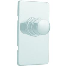 SILFRA QUIK splachovač 85x150mm pro WC, chrom