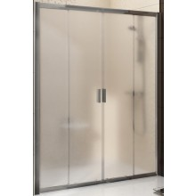 RAVAK BLIX BLDP4 160 sprchové dveře 1570-1610x1900mm čtyřdílné, posuvné bílá/grape 0YVS0100ZG