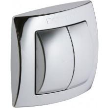 GEBERIT ovládací tlačítko na WC, nástěnné, chrom