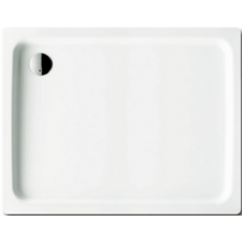 KALDEWEI DUSCHPLAN 416-1 sprchová vanička 750x1000x65mm, ocelová, obdélníková, bílá