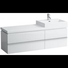 LAUFEN CASE skříňka pod umyvadlo 1488x455x457mm se 2 zásuvkami, bílá 4.0138.2.075.463.1