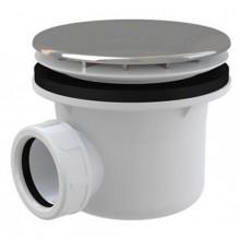 ROLTECHNIK vaničkový sifon Ø90mm, chrom, plast