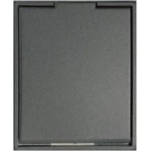 AEG COMPACT zásuvka, antracitová/antracitová