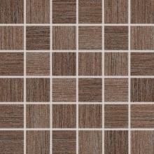 Dlažba Rako Defile mozaika 5x5 (30x30) cm sv.hnědá