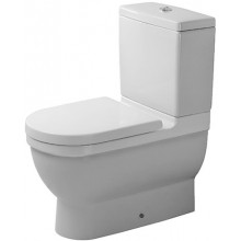 DURAVIT STARCK 3 stojící klozet 360x655mm kombinační, bílá/wonder gliss 01280900001