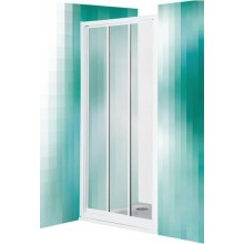 ROLTECHNIK CLASSIC LINE PD3N/800 sprchové dveře 800x1850mm posuvné, bílá/rugiada