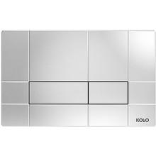 Předstěnové systémy ovládací desky Kolo Box 24x15x0,6 cm chrom