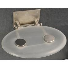 RAVAK OVO P sedátko do sprchového koutu 410x350x130mm plastové, čiré B8F0000000