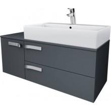 Nábytek skříňka pod umyvadlo Ideal Standard Strada 105x42x42 cm lesklý lak šedý