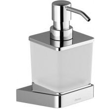 RAVAK 10 TD 231 dávkovač na mýdlo 75x124x170mm, chrom/sklo
