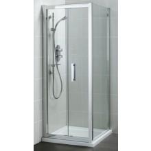 IDEAL STANDARD SYNERGY boční stěna 900x1900mm, pevná, sklo, lesklá stříbrná