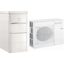DE DIETRICH ALEZIO AWHP 8 MR/E V200 čerpadlo tepelné 8kW vzduch/voda, jednofázové napájení, zabudovaný elektrokotel, s ohřívačem na přípravu TV