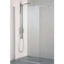 IDEAL STANDARD SYNERGY WETROOM sprchová stěna 120x202,5xm vstup z obou stran, Silver Bright/sklo L6225EO