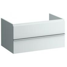 LAUFEN CASE zásuvkový element 895x520x450mm se 2 zásuvkami, se systémem SoftClose, bílá 4.0523.3.075.463.1
