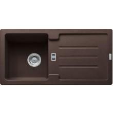 FRANKE STRATA STG 614 dřez 860x435mm s odkapávačem, Fragranit DuraKleen Plus/tmavě hnědá