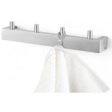 ZACK LINEA věšák na ručníky 26,5x5cm, nerez ocel