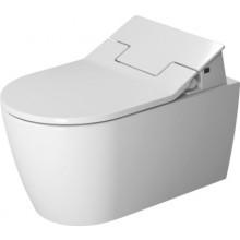WC závěsné Duravit odpad vodorovný ME by Starck SensoWash® toilets Rimless 370x570 mm bílá
