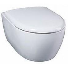 WC závěsné Keramag odpad vodorovný 4U bez splachovacího kruhu 6l bílá