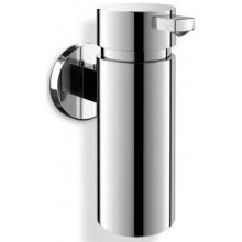 ZACK SCALA dávkovač na mýdlo 200ml, Ø5,5cm, nástěnný, nerez ocel/vysoký lesk