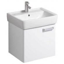 KERAMAG RENOVA NR.1 PLAN skříňka pod umyvadlo 53x46,3x44,5cm závěsná, korpus bílý, čelní plocha lesklá bílá 879050000