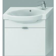 Nábytek skříňka s umyvadlem Jika Tigo 65 cm bílá-bílý lak
